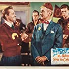Clifton Webb and Alan Young in Mr. Belvedere Goes to College (1949)