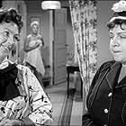 Sigrid Horne-Rasmussen and Marguerite Viby in Pigen og vandpytten (1958)