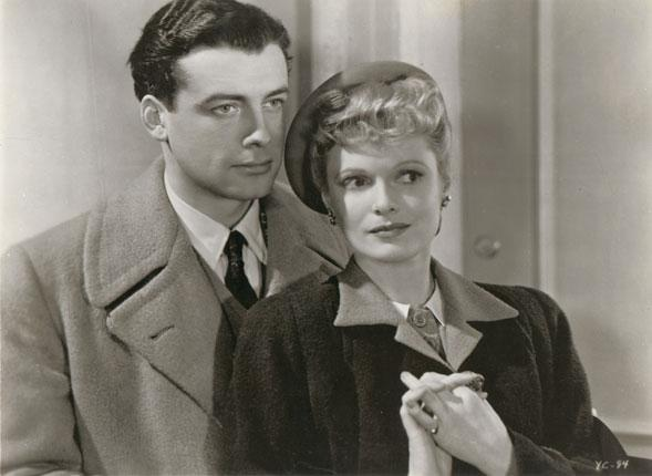 Richard Greene and Anna Neagle in Yellow Canary (1943)