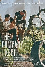 The Company I Kept Poster