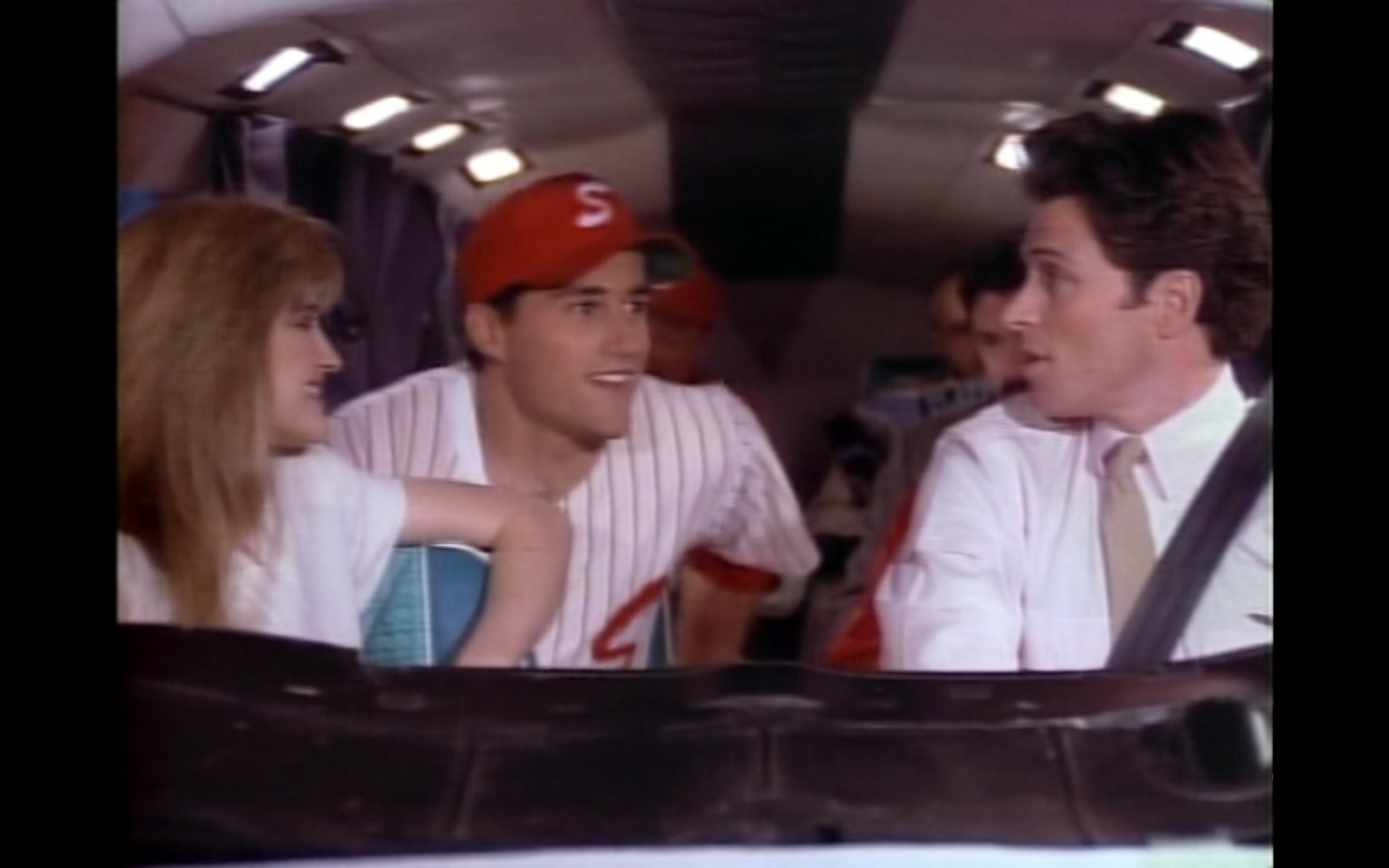 Crystal Bernard, Tim Daly, and Matthew Fox in Wings (1990)