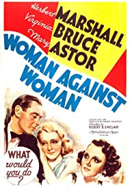 Mary Astor, Herbert Marshall, and Virginia Bruce in Woman Against Woman (1938)