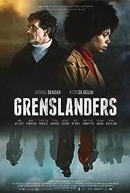 Koen De Bouw and Jasmine Sendar in Grenslanders (2019)