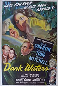Fay Bainter, Elisha Cook Jr., Thomas Mitchell, Merle Oberon, John Qualen, and Franchot Tone in Dark Waters (1944)