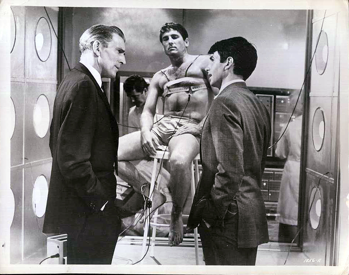 George Hamilton and Michael Rennie in The Power (1968)