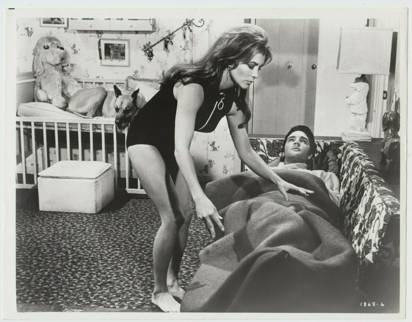 Elvis Presley and Michele Carey in Live a Little, Love a Little (1968)