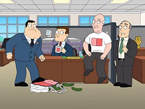 Patrick Stewart, David Koechner, Seth MacFarlane, and Mike Henry in American Dad! (2005)