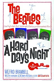 A Hard Day's Night (1964) Poster - Movie Forum, Cast, Reviews