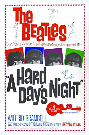 A Hard Day's Night Poster Image