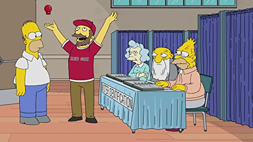The Simpsons: Homer Votes 2016