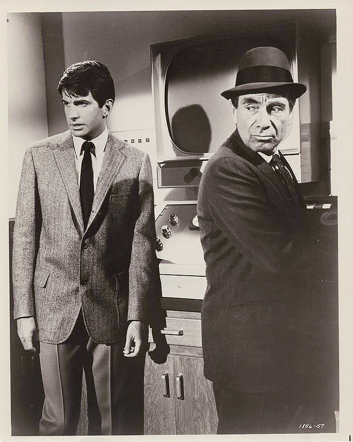 George Hamilton and Gary Merrill in The Power (1968)