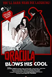 Dracula Blows His Cool Poster