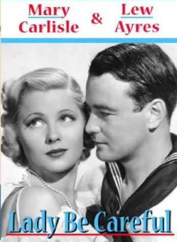 Lew Ayres and Mary Carlisle in Lady Be Careful (1936)