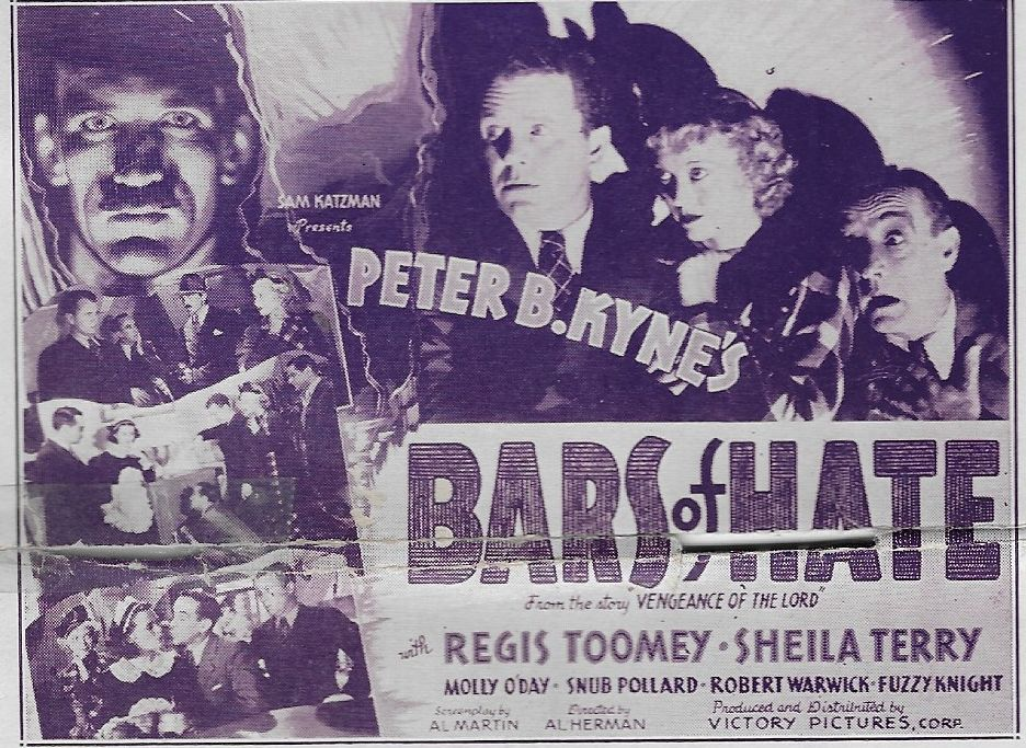 Gordon Griffith, 'Snub' Pollard, Sheila Terry, and Regis Toomey in Bars of Hate (1935)