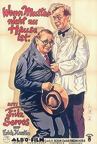 Erich Kestin and Fritz Servos in Wenn Mutter nicht zuhause ist (1934)