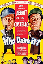 Who Done It? Poster