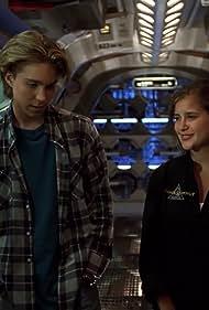 Jonathan Brandis and Kellie Martin in Seaquest DSV (1993)