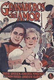 Conchita Montenegro and Raul Roulien in Granaderos del amor (1934)