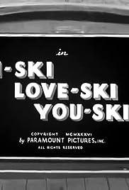I-Ski Love-Ski You-Ski Poster
