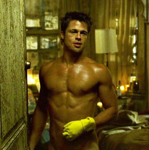 Brad Pitt in Fight Club (1999)