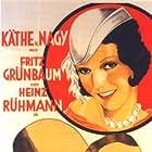 Heinz Rühmann, Fritz Grünbaum, and Käthe von Nagy in Meine Frau, die Hochstaplerin (1931)