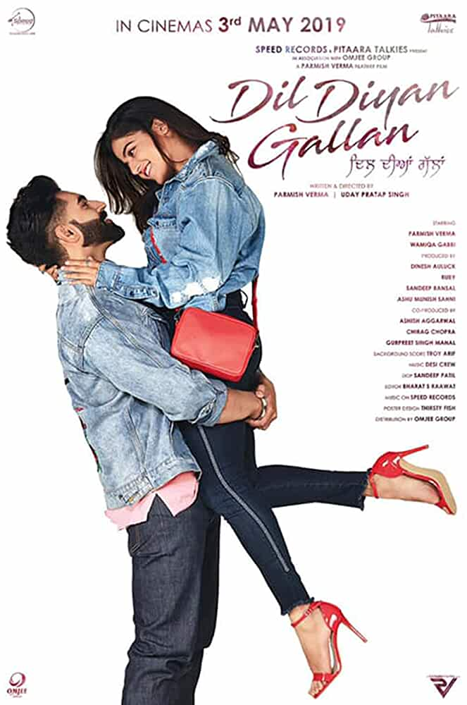 Dil Diyan Gallan (2019) Punjabi 720p HEVC HDTVRip x265 AAC [500MB] Full Punjabi Movie