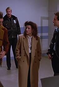 Julia Louis-Dreyfus, Jerry Seinfeld, Michael Richards, and Deck McKenzie in Seinfeld (1989)