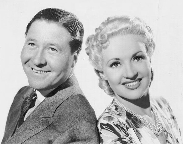 Betty Grable and Jack Oakie in Tin Pan Alley (1940)