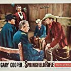 Gary Cooper, Philip Carey, William Fawcett, and Wilton Graff in Springfield Rifle (1952)