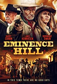 Lance Henriksen, Dominique Swain, and Barry Corbin in Eminence Hill (2019)