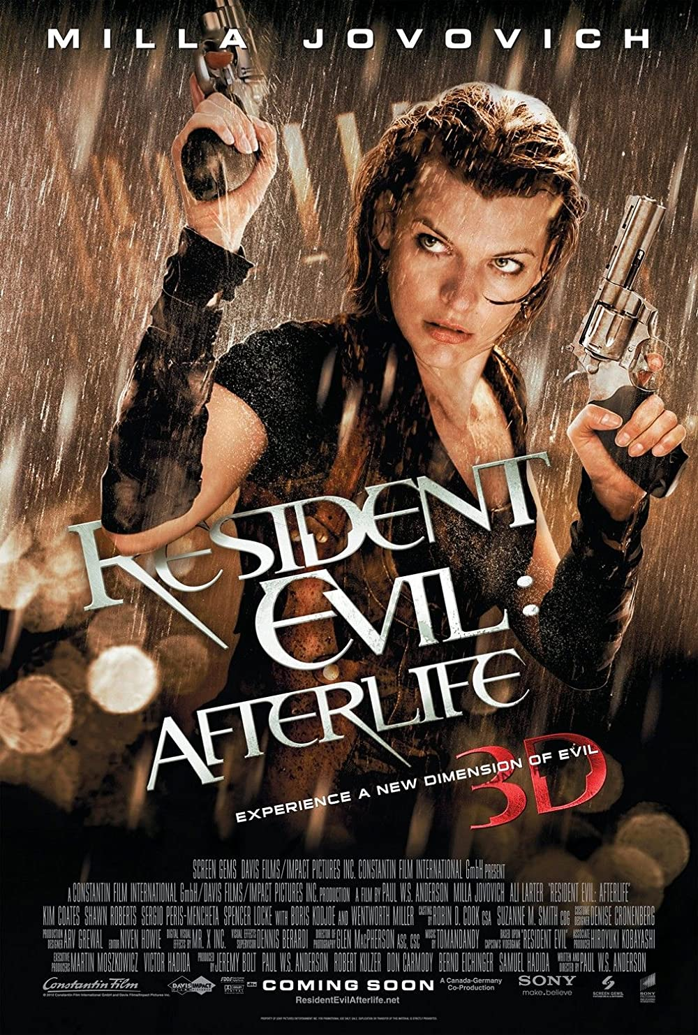 Resident Evil: Afterlife 2010 Hindi Dual Audio 350MB BluRay ESubs Download