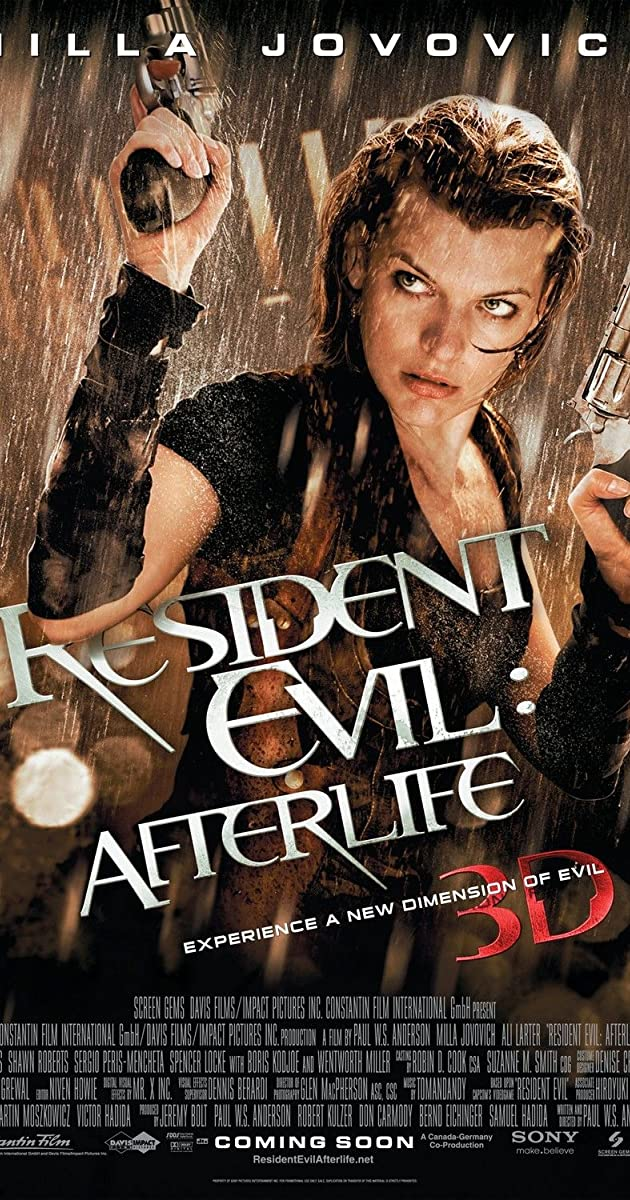 Resident Evil Afterlife 2010 Imdb