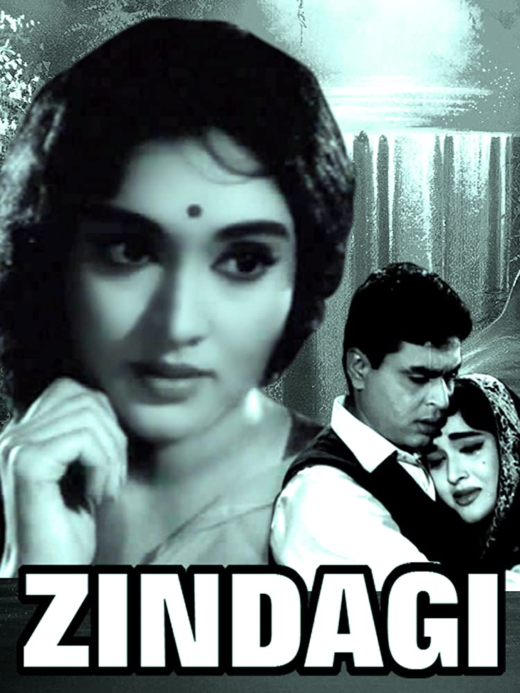 Zindagi 1964 Hindi Movie WebRip 400mb 480p 1.3GB 720p