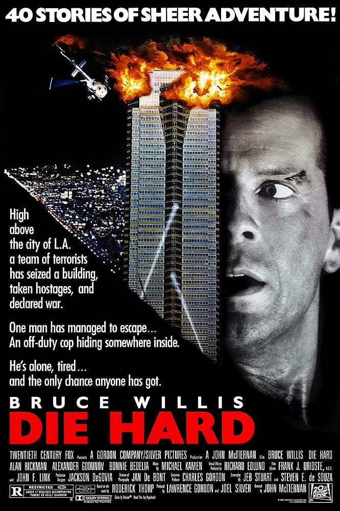 Die Hard 1988 poster