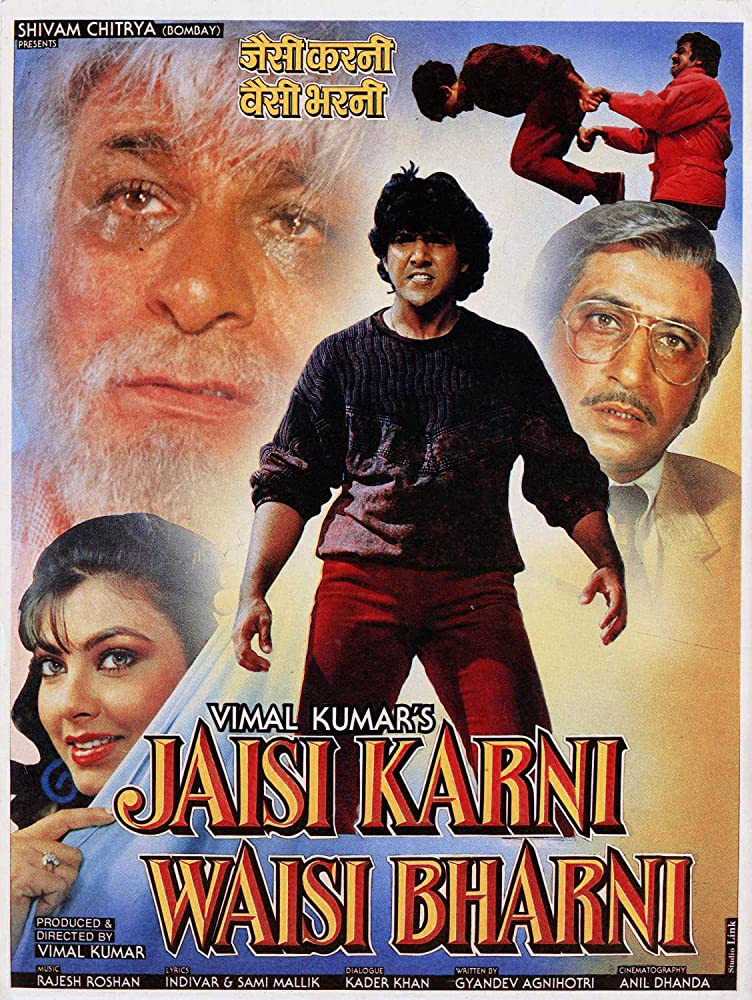 Jaisi Karni Waisi Bharni 1989 Hindi 1080p HDRip 2410MB Download