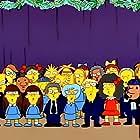 Nancy Cartwright, Pamela Hayden, and Russi Taylor in The Simpsons (1989)