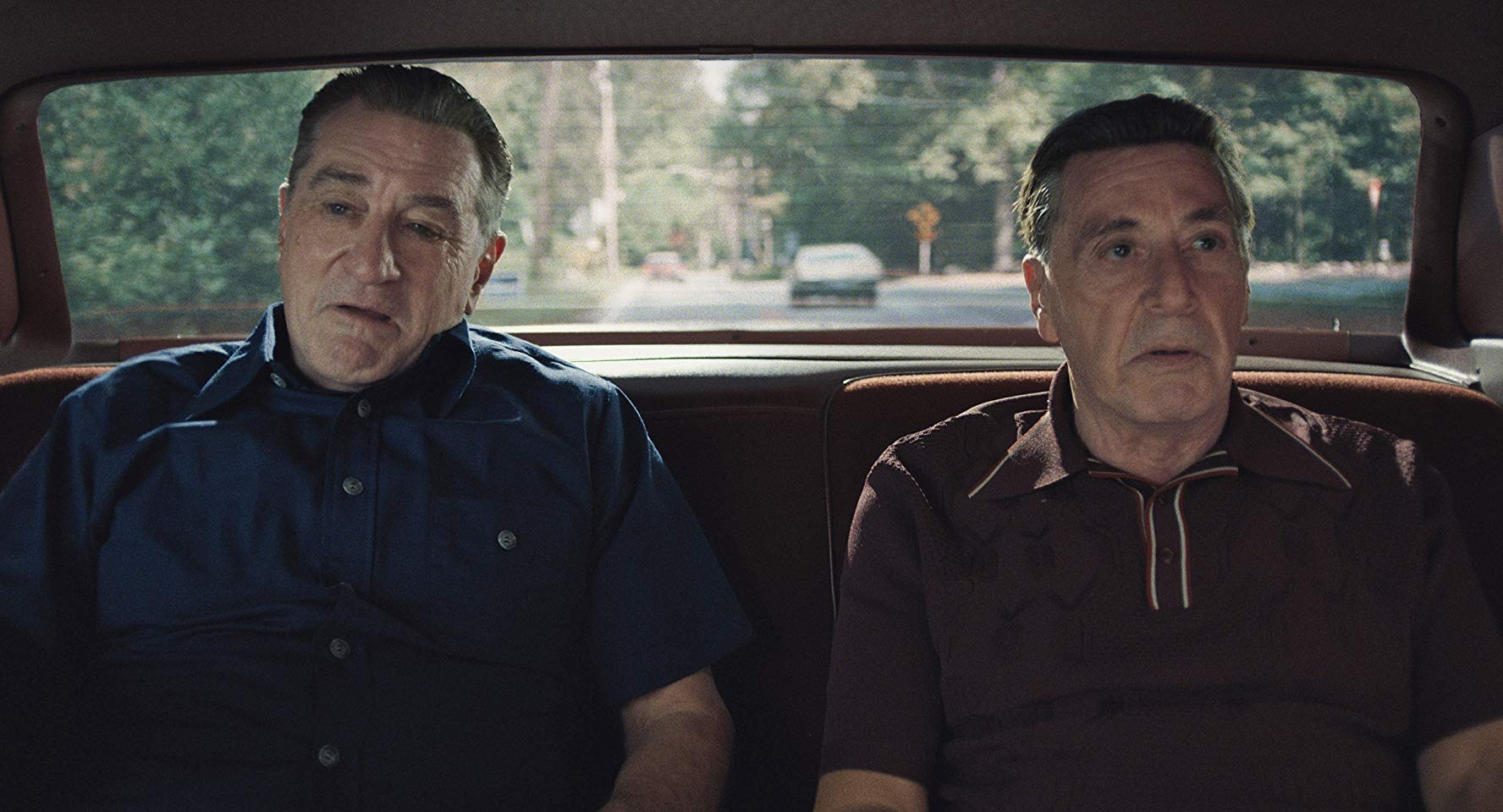 Robert De Niro and Al Pacino in The Irishman (2019)