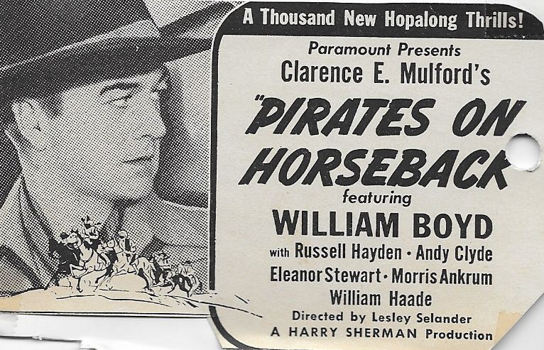 William Boyd in Pirates on Horseback (1941)