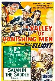 The Valley of Vanishing Men Poster