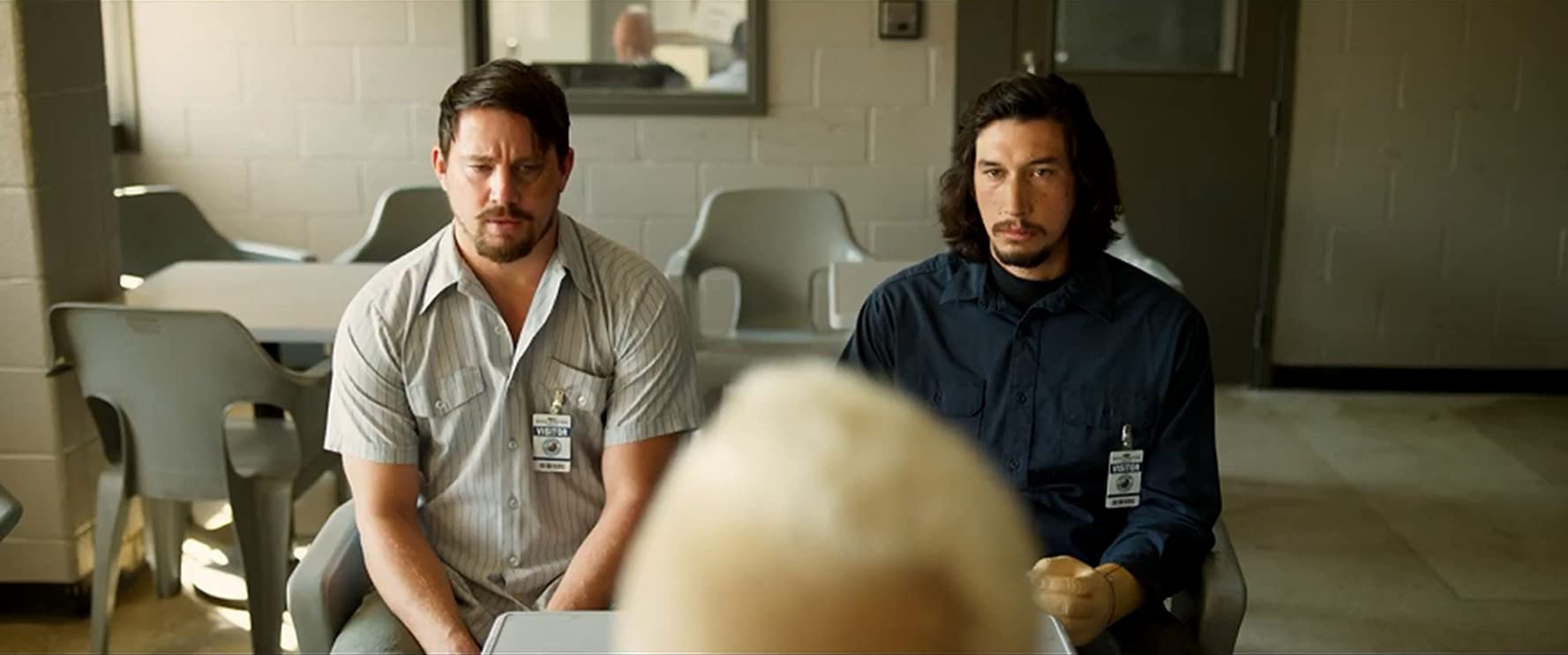 Daniel Craig, Channing Tatum, and Adam Driver in Logan Lucky (2017)