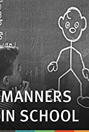 Manners in School Poster