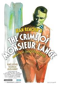 Jules Berry, Florelle, and René Lefèvre in Le crime de Monsieur Lange (1936)