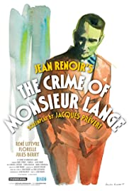 The Crime of Monsieur Lange (1936) Poster - Movie Forum, Cast, Reviews