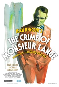 Watch me movie Le crime de Monsieur Lange 2160p]