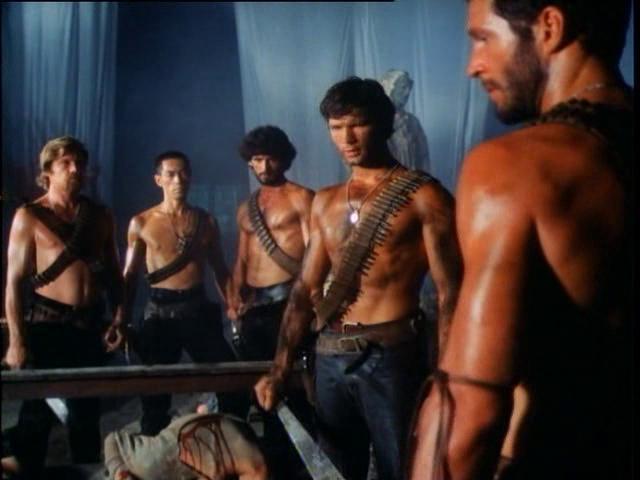 Hal Yamanouchi in Anno 2020 - I gladiatori del futuro (1983)
