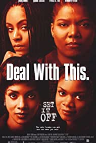 Vivica A. Fox, Jada Pinkett Smith, Queen Latifah, and Kimberly Elise in Set It Off (1996)