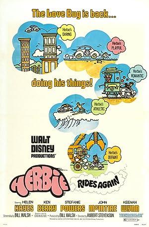 Herbie Rides Again Poster Image