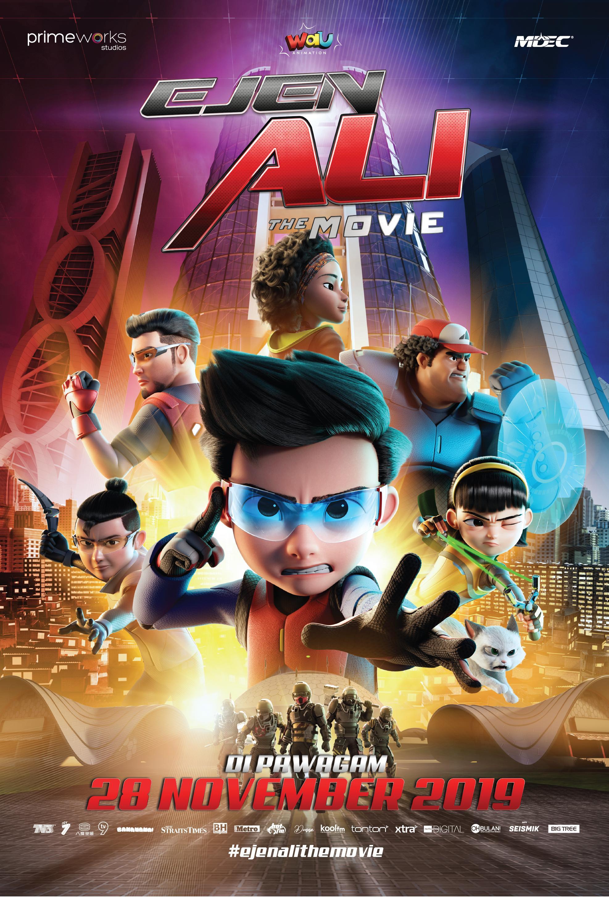 Ejen Ali The Movie 2019 IMDb