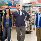 Mark McKinney, America Ferrera, and Nico Santos in Superstore (2015)