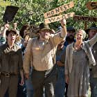 Vincent D'Onofrio, Josh Hutcherson, Nat Wolff, and Lio Tipton in In Dubious Battle (2016)